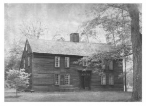 Thomas Lee House, East Lyme, photograph ca. 1970 - National Register of Historic Places