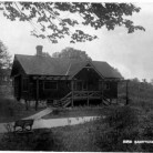 Bird Sanctuary. Postcard, ca. 1914. View of the main building at the Bird Sanctuary in Fairfield, Connecticut, established by Mabel Osgood Wright -  Connecticut Historical Society