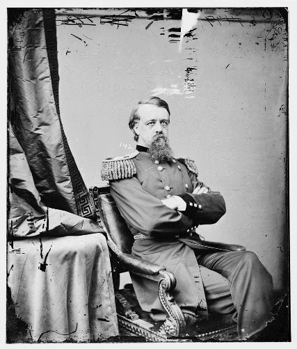 Glass negative of General Alfred Howe Terry, ca. 1860–75 - Library of Congress, Prints and Photographs Division, Brady-Handy Photograph Collection