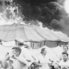 People flee the circus tent, July 1944  Hartford Courant file image