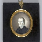 Roger Sherman, ca. 1810-1820, miniature, watercolor on ivory - Yale University Art Gallery