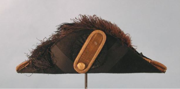 United States Army officer's dress chapeau bras owned by General Alfred Howe Terry, 1872 - Connecticut Historical Society