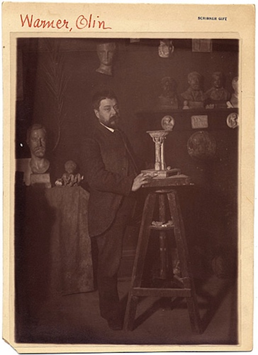 Olin Levi Warner, ca. 1874 - Smithsonian Institution, Archives of American Art