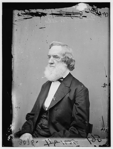 Portrait of Secretary of the Navy Gideon Welles, officer of the United States government, ca. 1855-1866 - Library of Congress, Prints and Photographs Division, Brady-Handy Collection
