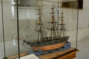 USS Hartford model, Connecticut State Capitol - Courtesy of Stacey Renee
