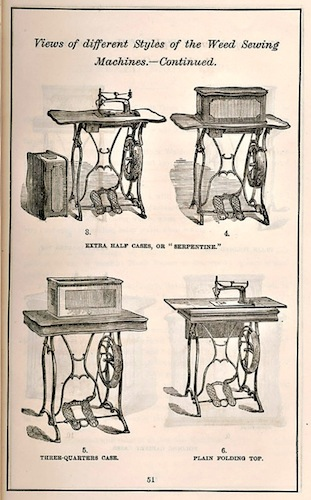 "Weed Sewing Machine Company, ""Circular and Price List,"" 1873 - Smithsonian Institution Libraries"