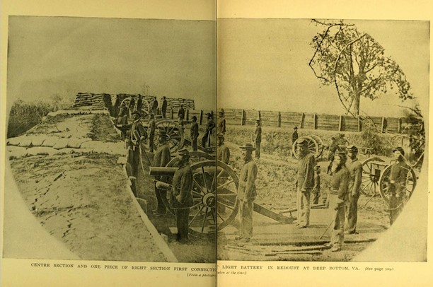 Awesome First Connecticut Light Battery At Deep Bottom, Virginia, 1864, From  History Of The Nice Look