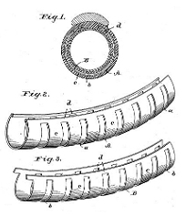 Fred M. Brown and Edward J. Brosnan, Pneumatic Tire Patent Number 565,258August 4, 1896