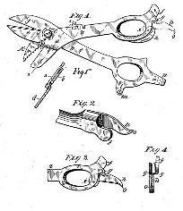 Nathan M. Stebbins, Combination Tool Patent Number 574,178December 29, 1896