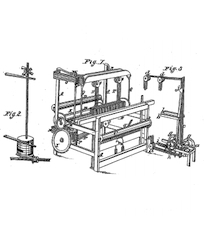 Elijah Fairman, Power-LoomPatent Number 595February 6, 1838