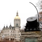 First Connecticut Heavy Artillery monument by Stephen Maslen Monument Works, Hartford - Courtesy of Stacey Renee