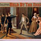 William Gillette's Held by the Enemy. Copyright 1898 by The Strobridge Lith Co., Cin'ti & N.Y.  - Library of Congress, Prints and Photographs Division