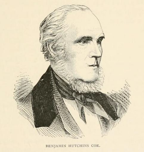 Benjamin Hutchins Coe from Arts and Artists in Connecticut by H. W. French