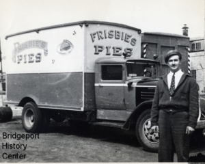 Frisbie's Pies truck - Bridgeport History Center