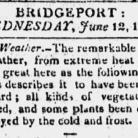 News item from the Republican Farmer, June 12,1816