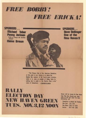 Free Bobby, Free Erika. Broadside, 1970 - Connecticut Historical Society