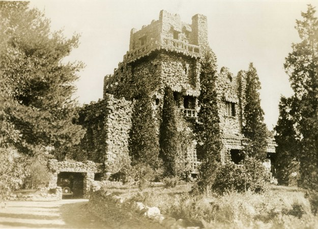 The Seventh Sister now known as Gillette Castle - Harriet Beecher Stowe Center and Connecticut State Library
