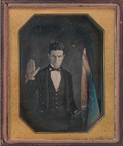 Augustus Washington, John Brown, ca. 1846–1847, Daguerreotype - National Portrait Gallery, Smithsonian Institution