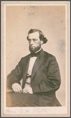Moulthrop & Williams, Orville H. Platt, 1862, cartes-de-visite - Connecticut State Library, Connecticut General Assembly Portraits, PG 540