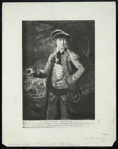 Colonel Arnold - New York Public Library Digital Collections, The Miriam and Ira D. Wallach Division of Art, Prints and Photographs