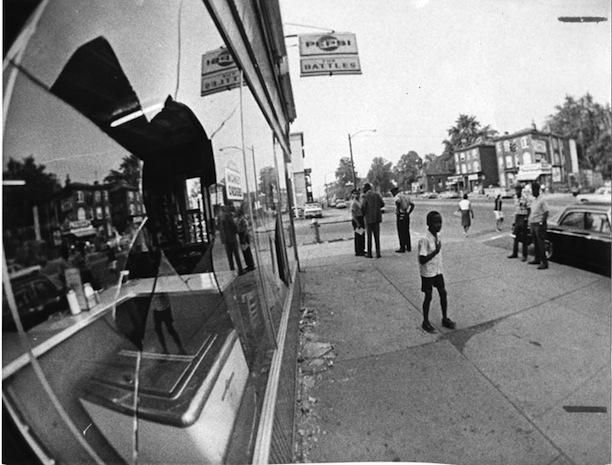Damage from demonstrations, North End of Hartford, Hartford, CT, July 1967. Photograph by Ellery G. Kigton - The Hartford Times Collection, Hartford History Center, Hartford Public Library