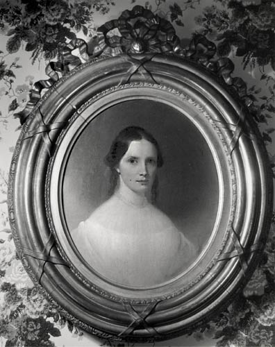 Portrait of Isabella Beecher - Harriet Beecher Stowe Center