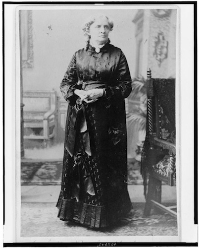 Full-length portrait of Isabella Beecher Hooker - Library of Congress, Prints and Photographs Division, Sewall Collection