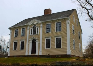 The Peters house today - Hebron Historical Society