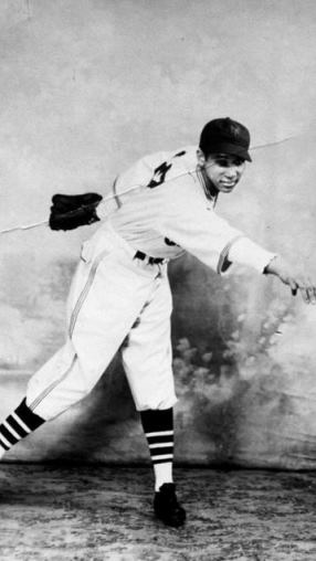 "Hartford's ""Schoolboy"" Johnny Taylor circa 1936 or 1937, when he played for the New York Cubans - Hartford Courant"