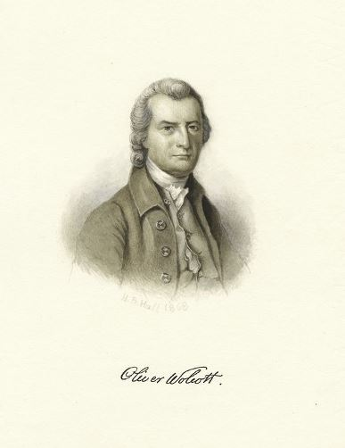 "Portrait of ""Oliver Wolcott"" - The New York Public Library Digital Collections, The Miriam and Ira D. Wallach Division of Art, Prints and Photographs"
