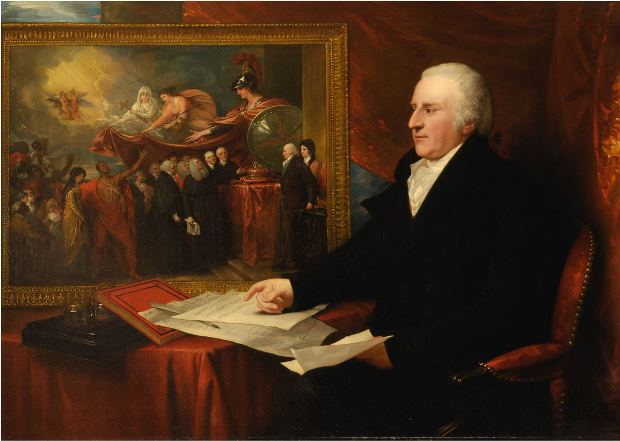 Benjamin West, John Eardley Wilmot, 1812, oil on canvas - Yale Center for British Art, Paul Mellon Collection