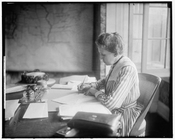 Ida M. Tarbell, ca. 1905-1945 - Library of Congress, Prints and Photographs Division, Harris & Ewing Collection