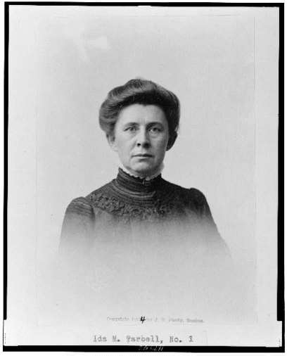 IdaTarbell, ca. 1904 - Library of Congress, Prints and Photographs Division