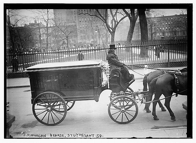 Funeral of financier John Pierpont Morgan, April 14, 1913 in New York City - Library of Congress, Prints and Photographs Division