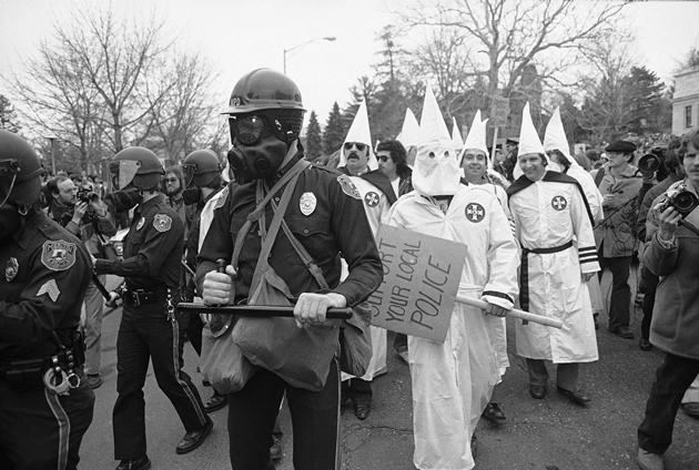 an overview of the freedom of speech and the argument in favor of the klu klux klan