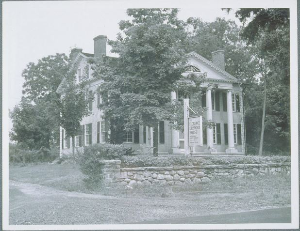 Florence Griswold House, Lyme, ca. 1949 - University of Connecticut Libraries, Thomas J. Dodd Research Center, Archives & Special Collections