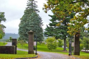 Entrance gate to Indian Hill Cemetery - Indian Hill Cemetery Association