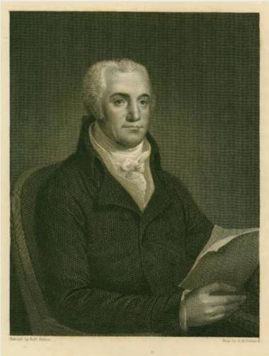 Asher Brown Durand engraving of Joel Barlow - Connecticut Historical Society and Connecticut History Online