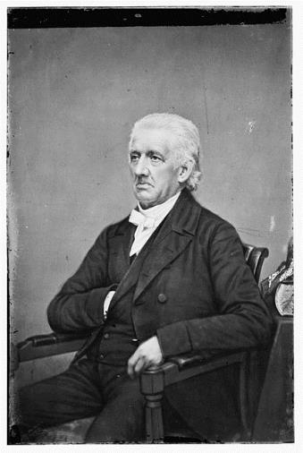 Reverend Lyman Beecher, ca. 1855-1865Library of Congress, Prints and Photographs Division, Brady-Handy Photograph Collection