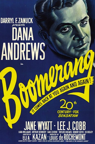 Theatrical release poster, 1947 - Twentieth Century Fox Film Corporation