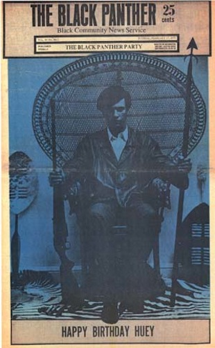 Black Panther. Vol. 4, no. 11, 1970 - From the exhibit Voices from the Underground: University of Connecticut Libraries, Archives & Special Collections at the Thomas J. Dodd Research Center