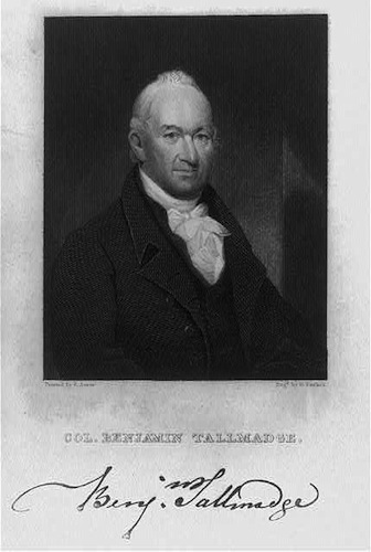 Benjamin Tallmadge, painted by E. Ames - Library of Congress, Prints and Photographs Division