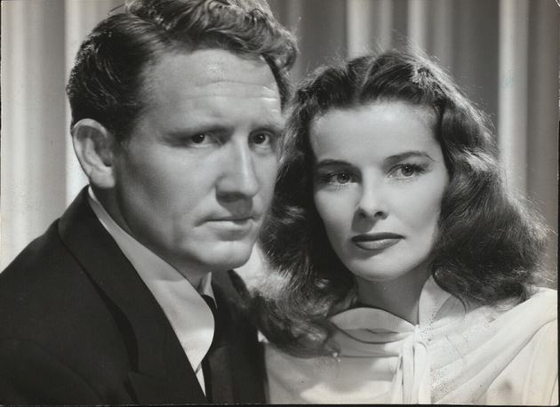 Katharine Hepburn and Spencer Tracy - New York Public Library Digital Collections, Billy Rose Theatre Division