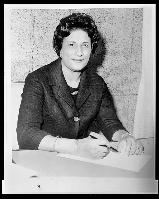 Constance Baker Motley, January 28, 1964 - Library of Congress, Prints and Photographs Division, New York World-Telegram and the Sun Newspaper Photograph Collection