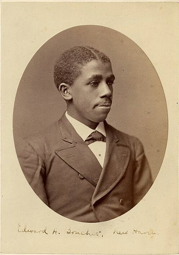 Portrait of Edward Alexander Bouchet, Yale College class of 1874, the first African-American to graduate from Yale College - Yale University Manuscripts & Archives Digital Images Database