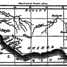"""Map of part of Western Africa"" indicating the location of Sierre Leone from John Warner Barber's book A History of the Amistad Captives:..."""