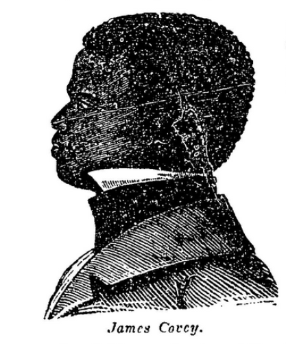 An illustration of James Covey