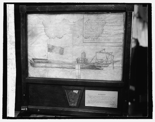 John Fitch's steamboat patent