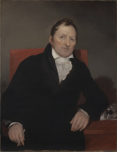 Samuel Finley Breese Morse, Eli Whitney, 1822, oil on canvas - Yale University Art Gallery