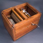 Reproduction of Eli Whitney's Cotton Gin Model - National Museum of American History, Kenneth E. Behring Center